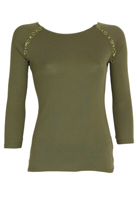 Bluza Sinsay Amy Dark Green