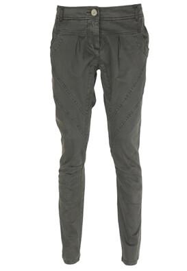 Pantaloni Made For Loving Laura Dark Grey