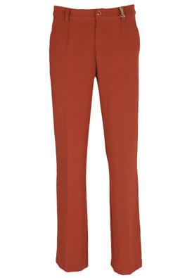 Pantaloni Silvian Heach Hanna Dark Red