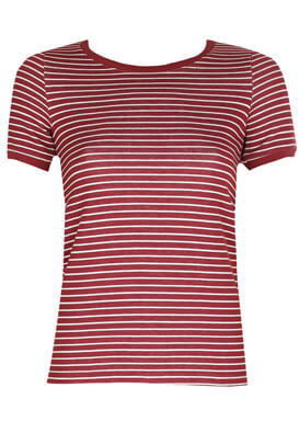 Tricou Stradivarius Hanna Dark Red