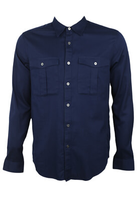 Camasa ZARA Larry Dark Blue