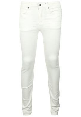 Pantaloni ZARA Carros White