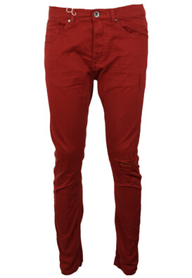 Pantaloni ZARA Hal Dark Red