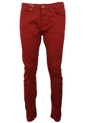Pantaloni ZARA Hal Dark Red