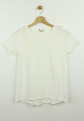 Tricou ZARA Barbie White