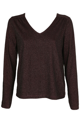 Bluza Kiabi Mary Dark Purple