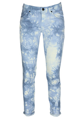 Pantaloni Pure Oxygen Sally Light Blue