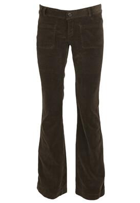 Pantaloni Souvenir Clubbing Dina Dark Brown