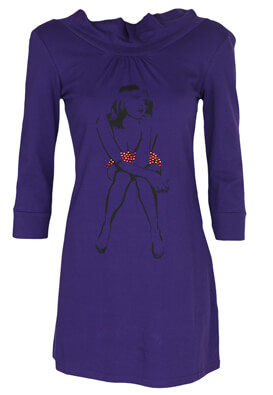 Rochie Made For Loving Jennifer Purple