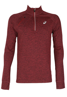 Bluza Performance Asics Victor Dark Red