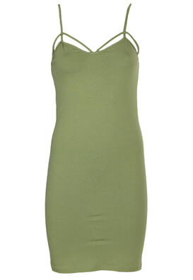 Rochie Pull and Bear Theresa Dark Green