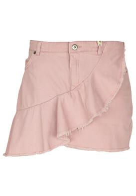 Fusta Pull and Bear Pretty Light Pink