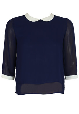 Bluza Pull and Bear Victoria Dark Blue