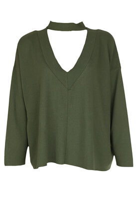 Bluza Pull and Bear Camilla Dark Green