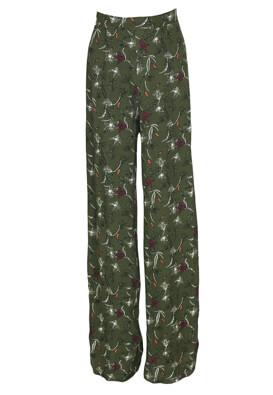 Pantaloni Pull and Bear Taya Dark Green