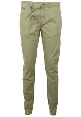 Pantaloni ZARA Riley Dark Green