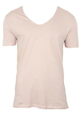 Tricou ZARA Basic Pink