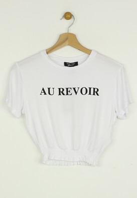 Tricou New Look Nadine White