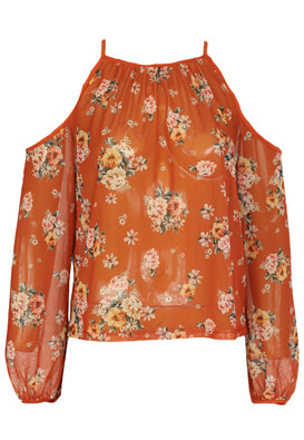 Bluza New Look Sally Dark Orange