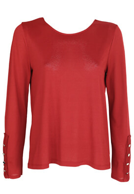 Bluza ZARA Adele Dark Red
