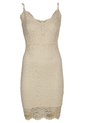 Rochie New Look Celine Light Beige