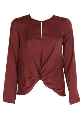 Bluza Promod Olivia Dark Red