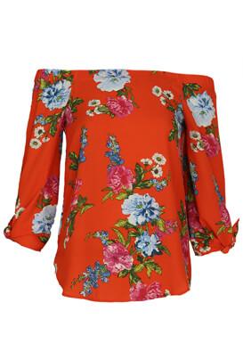 Bluza New Look Floral Orange