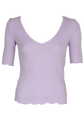 Tricou Stradivarius Sarah Light Purple