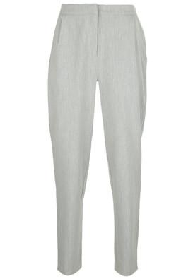 Pantaloni YAS Carrie Light Grey