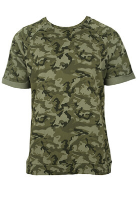Tricou ZARA Army Dark Green