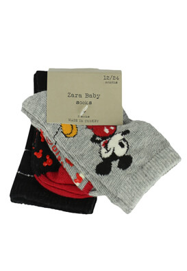 Set sosete ZARA Mickey Mouse Colors