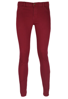 Blugi Bershka Xenia Dark Red