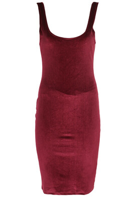 Rochie Pull and Bear Angela Dark Red