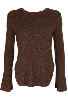 Bluza Pull and Bear Dasia Dark Brown