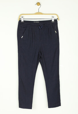 Pantaloni de stofa ZARA Carter Dark Blue
