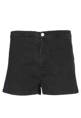 Pantaloni scurti Pull and Bear Gina Black
