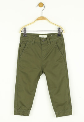 Pantaloni Reserved Yannis Dark Green