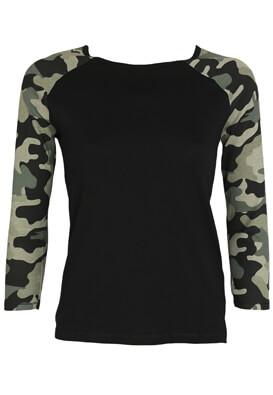 Bluza Reserved Rhea Black