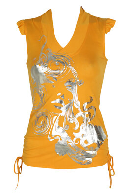 Tricou Made For Loving Mireille Orange