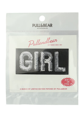 Sticker Pull and Bear Doreen Black