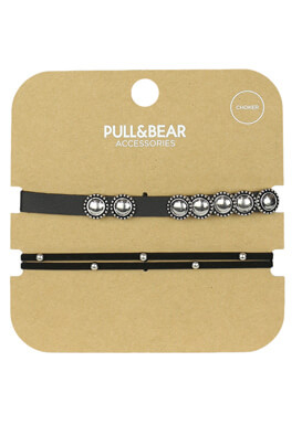 Set colier Pull and Bear Masha Black