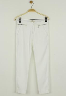 Pantaloni ZARA Pollyana White
