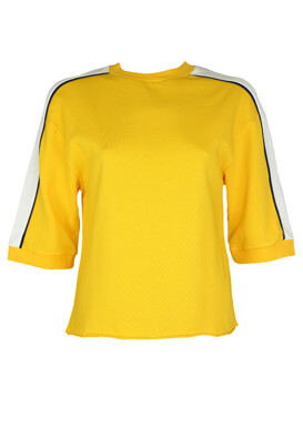 Bluza Bershka Alexandra Yellow