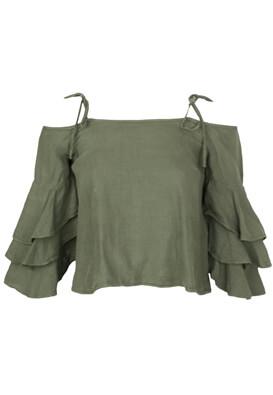Tricou ZARA Georgia Dark Green