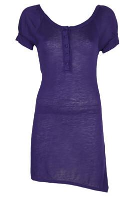 Tricou Made For Loving Madelaine Dark Purple
