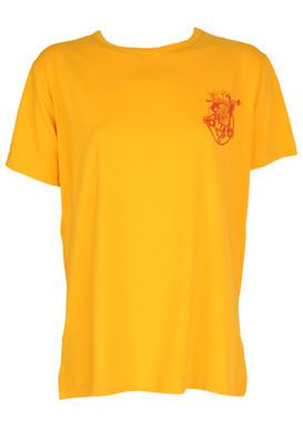Tricou Made For Loving Joyce Orange