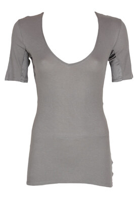 Tricou Guya/Made for Loving Carrie Dark Grey