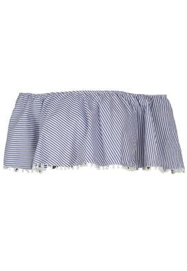 Top Pull and Bear Hera Blue
