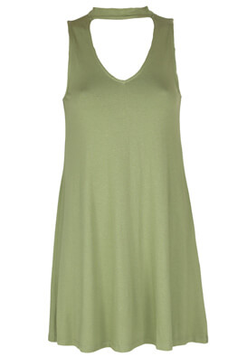 Rochie Pull and Bear Elle Dark Green
