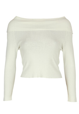 Bluza Pull and Bear Abbie White